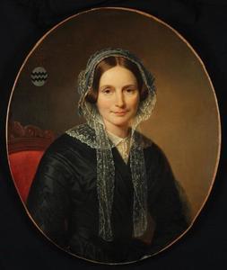 Portret van Henriette Elisabeth van Reede van Oudtshoorn (1811-1857)