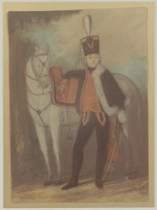 Portret van Ulrich Herman Huber (1774-1812)