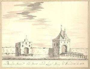Harderwijk, de Waterpoort anno 1607