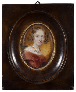 Portret van een vrouw, mogelijk Johanna Glazina Gleim (1805-1874)
