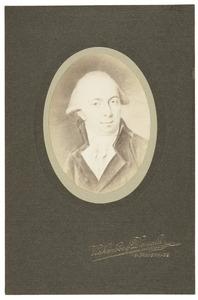 Portret van Willem Theodore Gevers Deynoot ( -1819)