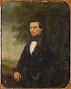 Portret van Jan David Meijer (1812-1893)