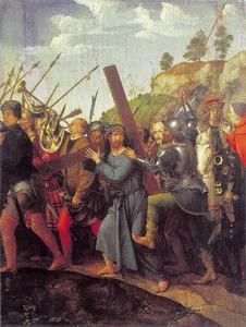 De kruisdraging door Christus