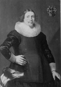 Portret van Saecke (Saco) (van) Teyens (1601-1650)