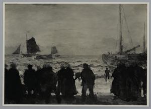 Terugkomst van de vissers
