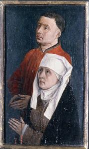 Twee stichtersportretten (Rogier van der Weyden en zijn echtgenote Elisabeth Goffaert?)