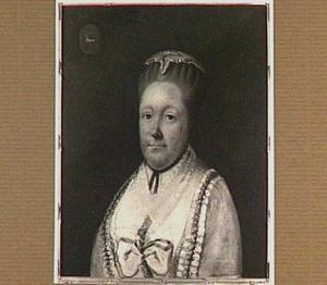 Portret van Johanna Cornelia Vrolikhart (1719-1787), echtgenote van Lambert Jacob van Tets