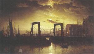 De oude Knippelsbro brug Kopenhagen