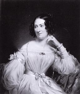Portret van Abrahamina Henriette Wurfbain (1808-1883)