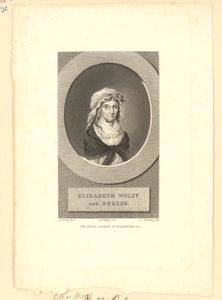 Portret van Elisabeth Bekker (1738-1804)