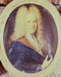 Portret van Isaac Ferdinand Godin (1688- )