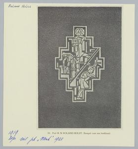 Stempel voor een boekband voor een uitgave van de  ANDB