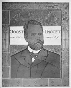 Portret van Joost Thooft (1844-1890)