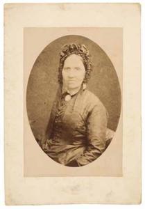 Portret van een onbekende vrouw, mogelijk uit familie van Vloten