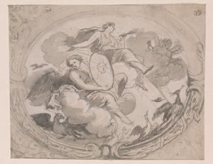 De triomf van Juno (Lucht)