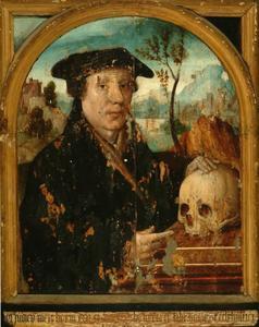 Portret van mogelijk Claes Claesz. Loen