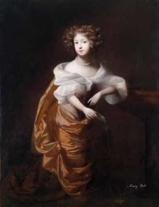 Portret van Mary Rolt of Milton Ernest (1667-  )