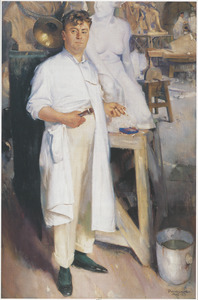 Portret van Toon Dupuis (1877-1937)