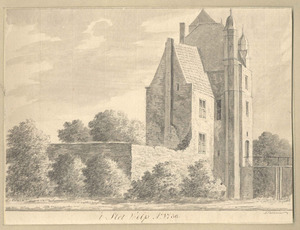 Het slot te Wilp anno 1730