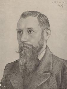 Portret van Jan Voerman (1857-1941)