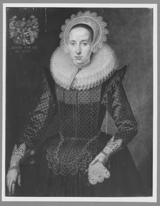 Portret van Anna (Suzanna?) Verrucius (1597-1643)