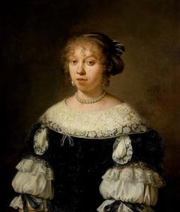 Portret van Maria Dircksdr. Bogaert (1650-1733)