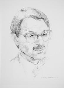 Portret van Jozef Marie Mathias Ritzen (1945- )