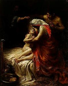 De profeet Elisa wekt de zoon der Sunamitische vrouw tot leven