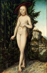 Venus in een landschap