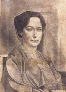 Portret van Bine de Sitter (1875-1956)