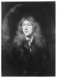 Portret van Benjamin Poulle (1646-1711)
