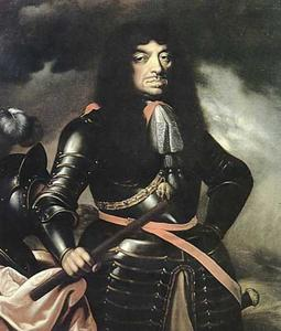 Portret van Jan Kazimir II Wasa, koning van Polen (1609-1672), zgn. Bielany-portret.