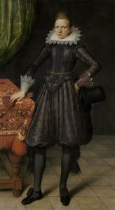 Portret van een jonge man, waarschijnlijk Peter Courten
