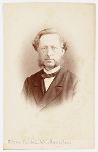 Portret van Jacob Leonard de Bruyn Kops (1822-1887)