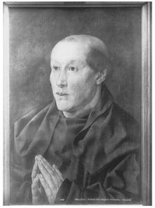 Portret van een 40-jarige monnik