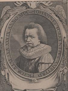 Portret van Johannes Torrentius (1589-1644)