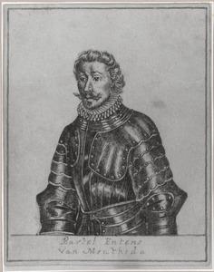 Portret van Barthold Entens van Mentheda (1539-1580)