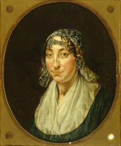 Portret van Geertruy de Waal Malefijt (1797-1830)
