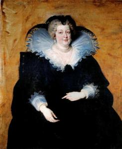 Portret van Maria de' Medici (1575-1642), koningin-moeder van Frankrijk