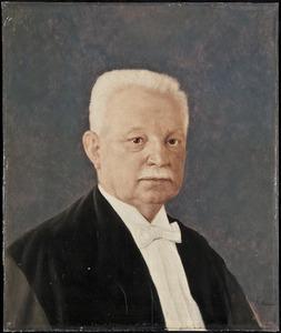 Portret van Johannes Gerardus Charlus Volmer (1865-1935)