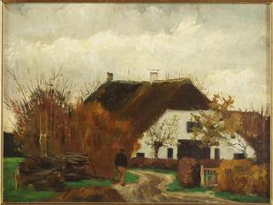 Oud boerderijtje langs Grindweg