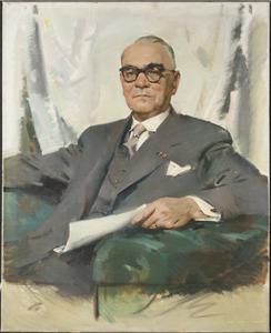 Portret van Jules Marie Hubert Breukers (1883-1964)