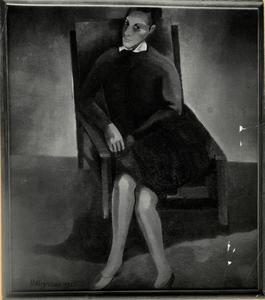 Portret van Petronella Johanna Antonia Maria Daniels (1892-1962)