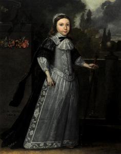 Portret van Tjalling Goffe van Camsta (?-1725)