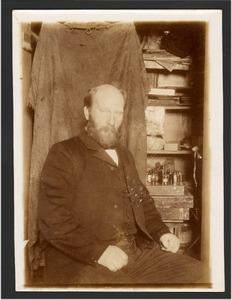 Portret van een man, mogelijk de schilder Richard Bisschop