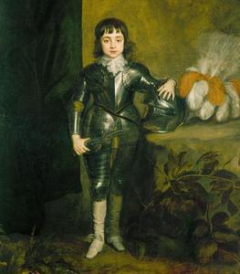 Portret van Charles II van Engeland (1630-1685) als prins van Wales