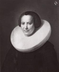 Portret van Sara Dragon (1582-1645)