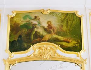 Venus treurend over de dood van Adonis