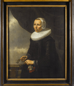 Portret van Aechje Claesdr. Moer (1585-1640)