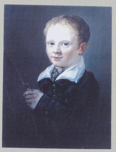 Portret van Hendrik van der Horst Bruijn (1818-1846)